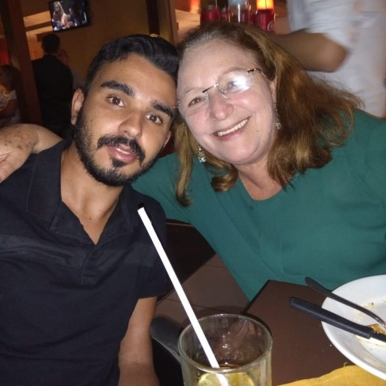 Diego e mãe, Alvorada